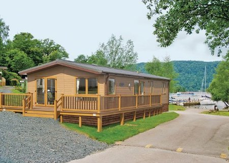 Riverview Country Park in Mundole, Morayshire is a collection of holiday lodges - with hot tubs