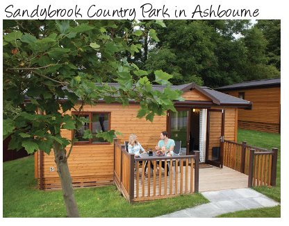 Sandybrook Country Park from Hoseasons - close to Alton Towers in Derbyshire