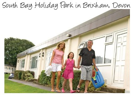 South Bay Holiday Park in Brixham, Devon is a family caravan holiday park
