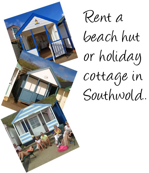Rent a cottage or beach hut in Southwold