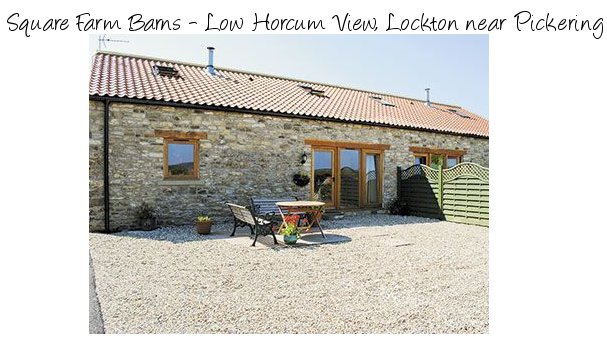 Square Farm Barns - Low Horcum View are a couple of holiday cottages near Pickering, on the edge of the North York Moors National Park