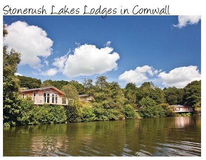 Rent Stonerush Lakes Lodges in Cornwall - complete with hot tub