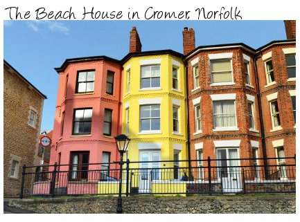 The Beach House is a sea-viewed holiday cottage in Cromer