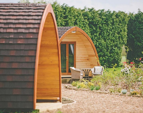 The Manor Resort Pods are holiday lodges on Laceby Manor Golf Club in Laceby