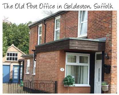 The Old Post Office is an old cottage in the Suffolk village of Geldeston - near Beccles. Sleeps 6 people
