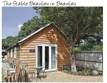 The Stable Beaulieu is set in a rural location in Beaulieu