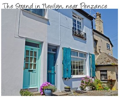 The Strand is a holiday cottage in the Cornish village of Newlyn, near Penzance. Pet friendly