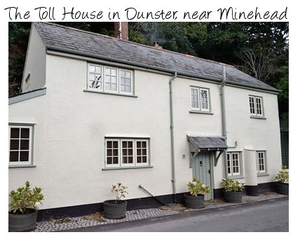 The Toll House is a holiday cottage in Dunster, next to the Exmoor National Park
