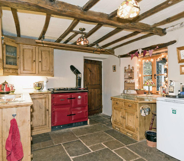 The farmhouse kitchen at Townend Farm in Little Asby