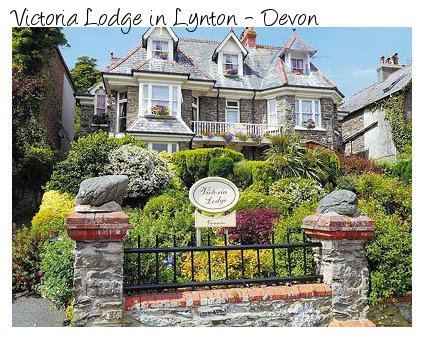Victoria Lodge is a Victorian holiday home in the Devon village of Lynton