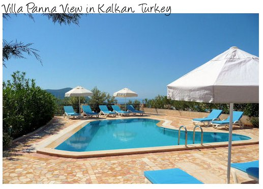 Villa Panna View in Kalkan in Turkey is a holiday villa sleeping 10 people  - close to amenities