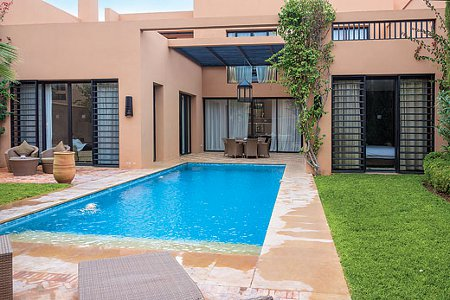 Villa ryad bab aylan is one of the holiday villas at al for Bab hotel marrakech piscine