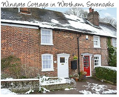 Wingate Cottage is a holiday cottage in Wrotham near Sevenoaks, sleeps 4 people