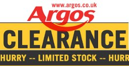Get the latest clearance items from argos.co.uk