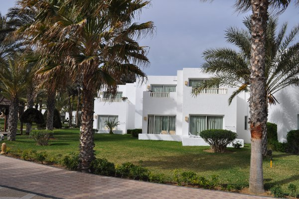 The bungalows at Riu Marhaba Palace Hammamet