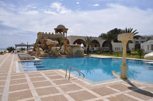The other pool at Riu Marhaba Palace Hammamet